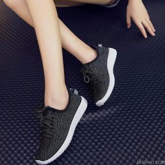 Giày thể thao nữ siêu thoáng Sportmax SPW905626D - Đen - 4