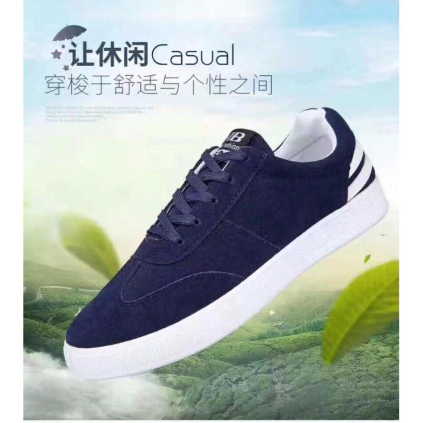 Giày thể thao Sneaker nam cá tính V.3 (Xanh Đen)