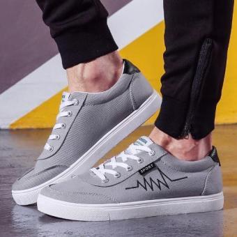 Giày thể thao Sneaker nam sành điệu (Xám) - 2