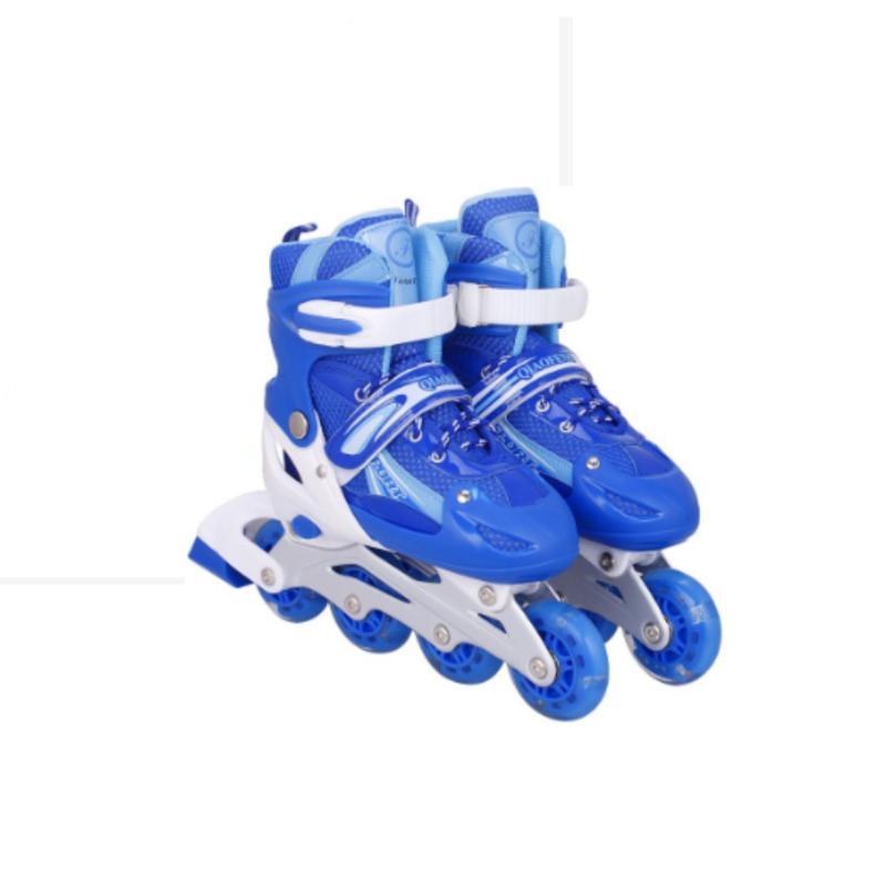 Phân phối Giày trượt patin đinh tán phát sáng - màu xanh