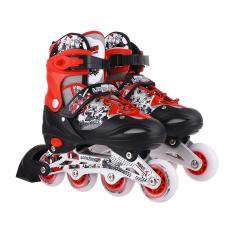 Giày trượt Patin Long Feng 906 - Đỏ