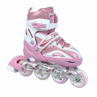 Giầy trượt patin trẻ em cao cấp Longfeng 907 (Size L từ 38-42)