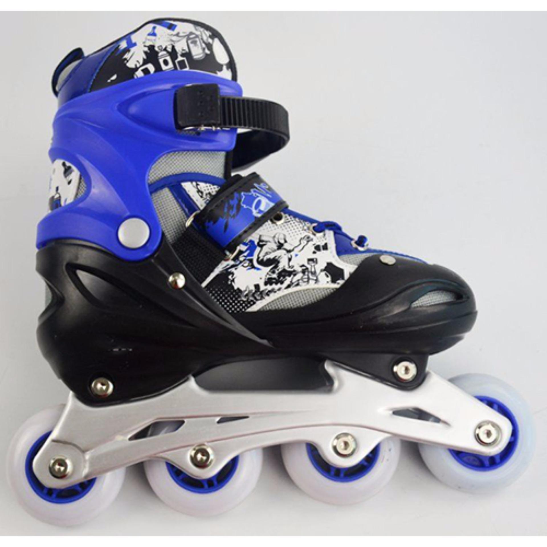 Giầy trượt patin trẻ em Long Feng 906 size L-Phù hợp cho trẻ trên 12 tuổi