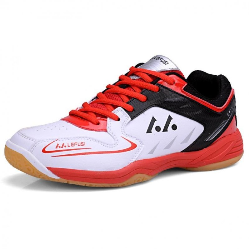 KAILIJIE Mens Sports Training SH-A1 Professional Badminton Shoes (Red) - intl