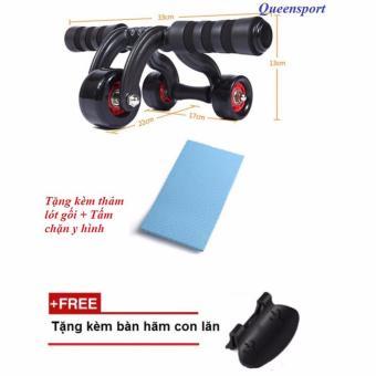 Máy tập cơ bụng 3 bánh tập thể hình(AB roller anh push up bar)QS - 8343520 , NO007SPAA6KT8XVNAMZ-12109565 , 224_NO007SPAA6KT8XVNAMZ-12109565 , 430100 , May-tap-co-bung-3-banh-tap-the-hinhAB-roller-anh-push-up-barQS-224_NO007SPAA6KT8XVNAMZ-12109565 , lazada.vn , Máy tập cơ bụng 3 bánh tập thể hình(AB roller anh push