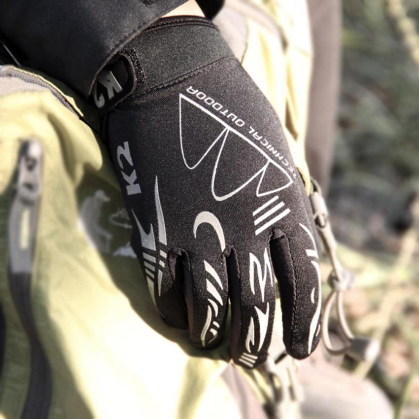 Hình ảnh Mountain Bike Gloves Road Bicycle Gloves Silicone Gel Pad Riding Gloves M - intl