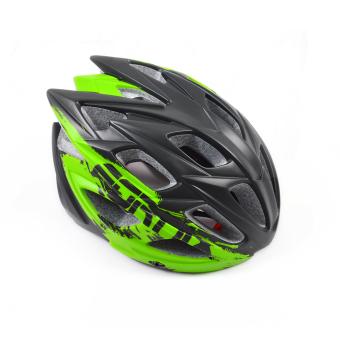 Mũ bảo hiểm đi xe đạp Fornix A02N030M(Đen phối xanh lá) - 4