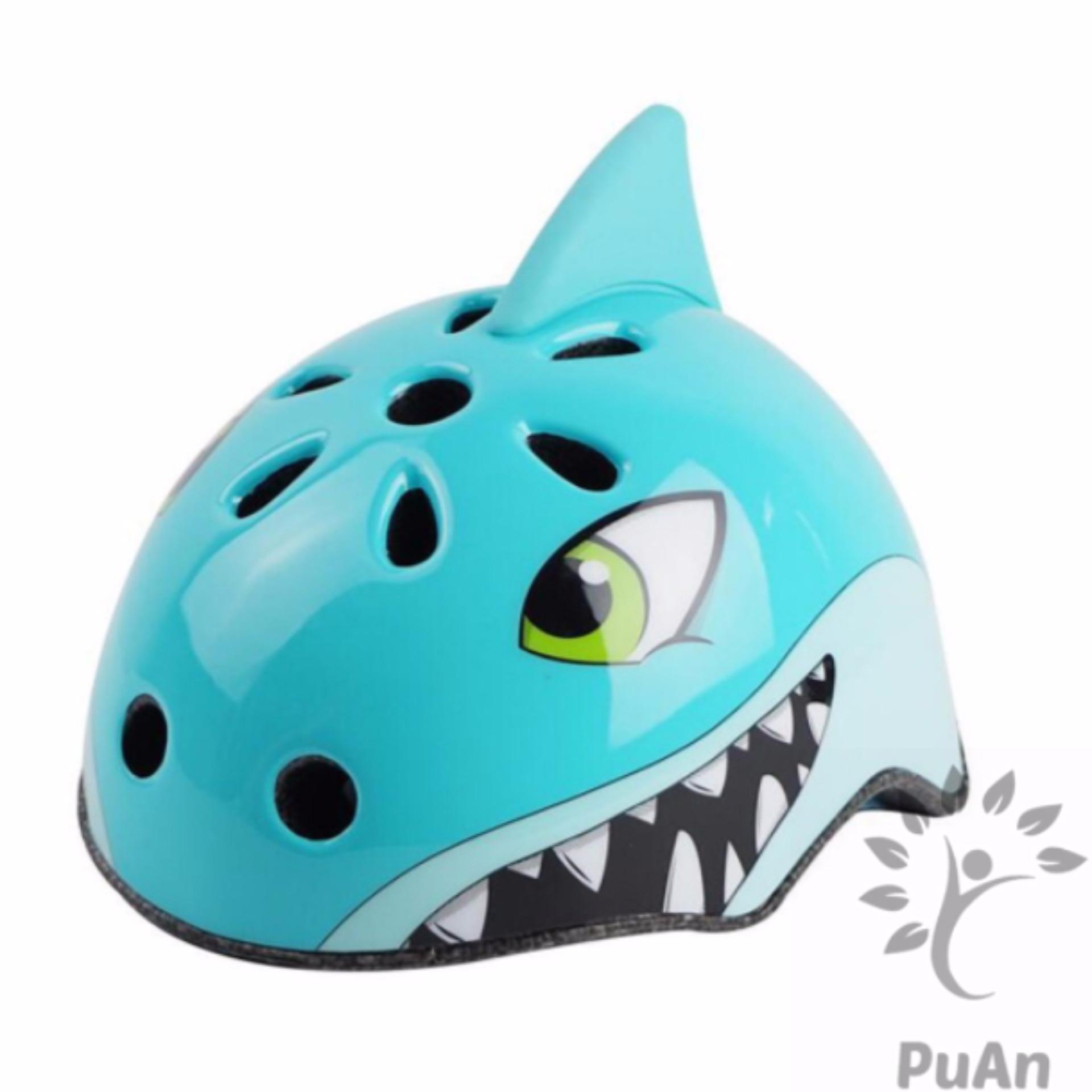 Mũ bảo hiểm trẻ em hình Cá Mập