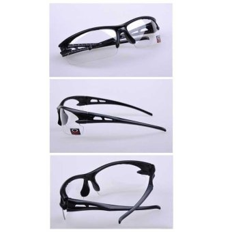 Outdoor Unisex Sunglasses Anti Shock Glasses PC Cycling DrivingGoggles - intl