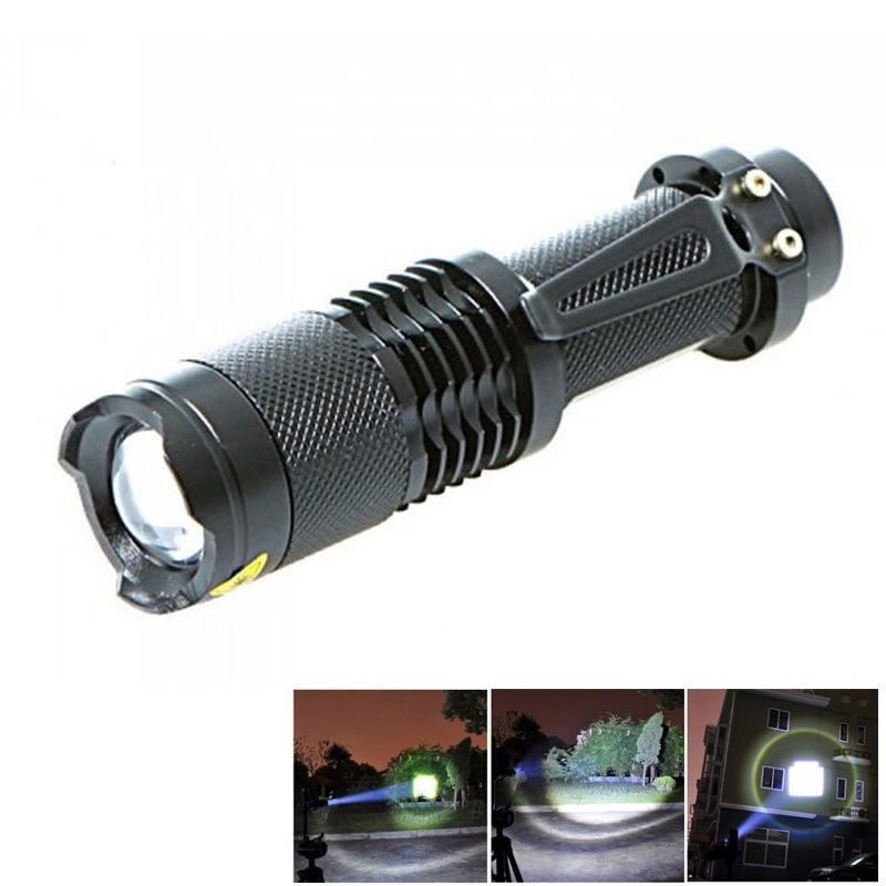 PAlight CREE XML-T6 5-mode 2000 Lumens Zoomable LED Flashlight -intl