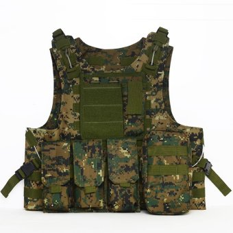 PAlight Outdoor Camouflage Tactical Armor Vest (Color 5) - intl