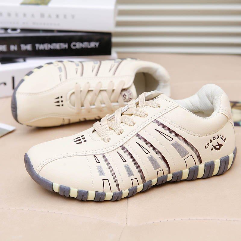 ... PINSV Women s Sport Outdoor Shoes Badminton Shoes (Beige) -intl ... 122b883e7d