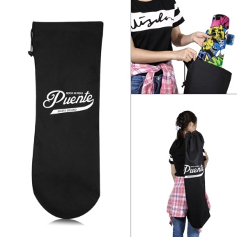 PUENTE Draw Cord Skateboard Scooter Carrying Bag - intl