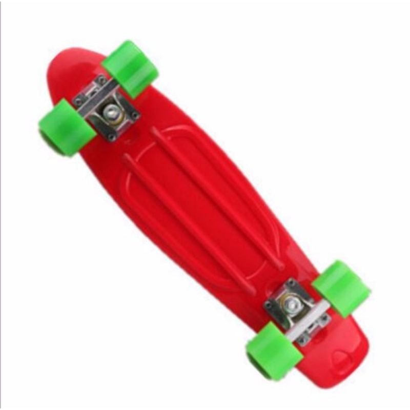 Qizhef22 inch fish plate are single - Four Wheel Scooter Skate Scooter(red) - intl