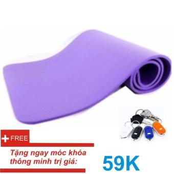 Thảm tập Yoga siêu bền loại dày 10mm TPE (Tím) Kèm túi đựng+ Móc khóa thông minh - 8629384 , OE680SPAA8TATUVNAMZ-17270216 , 224_OE680SPAA8TATUVNAMZ-17270216 , 335000 , Tham-tap-Yoga-sieu-ben-loai-day-10mm-TPE-Tim-Kem-tui-dung-Moc-khoa-thong-minh-224_OE680SPAA8TATUVNAMZ-17270216 , lazada.vn , Thảm tập Yoga siêu bền loại dày 10mm TPE