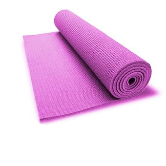 Thảm tập yoga tốt có túi đựng Ribobi (Hồng)