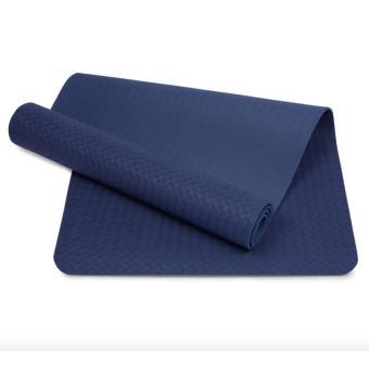 Thảm tập yoga TPE 8mm cao cấp (Xanh coban)
