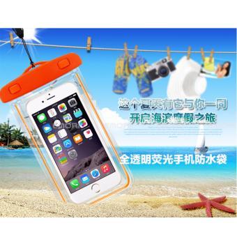 Túi chống nước an toàn cho điện thoại Iphone 5/6/6Plus (Cam)