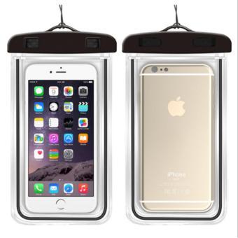 Túi chống nước an toàn cho điện thoại Iphone 5/6/6Plus (Đen)