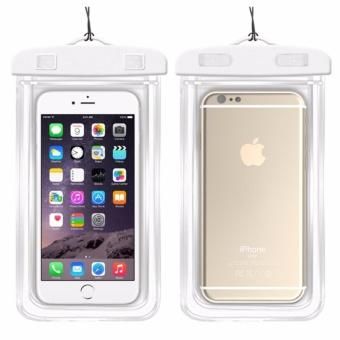 Túi chống nước an toàn cho điện thoại Iphone 5/6/6Plus (Trắng)