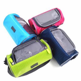 Túi treo tay lái xe máy, xe đạp chống nước, cảm ứng 3 ngăn H121(Nhiều màu)
