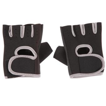 Unisex Fitness Exercise Workout Weight Lifting Sport Gloves GymTraining - intl
