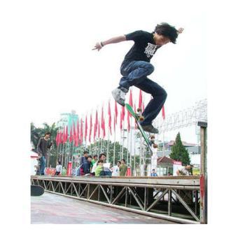 Ván trượt (chớp lửa nam châm - nọc độc bọ cạp) Skateboard cao cấp cỡ lớn bánh cao su trong đẳng cấp
