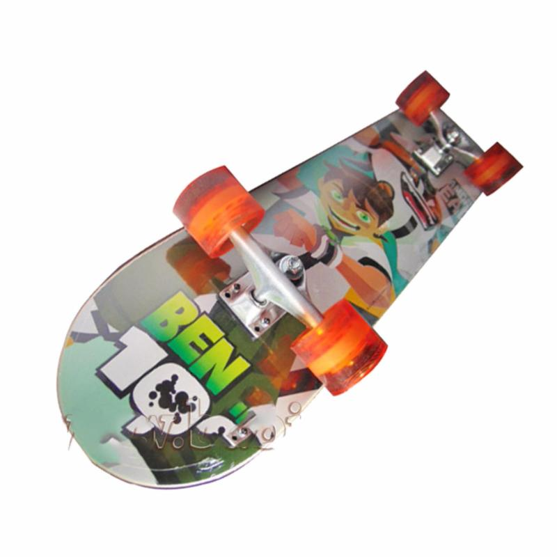 Ván trượt Skateboard cỡ lớn cao cấp (Bánh xe phát sáng)