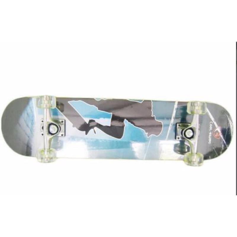 Ván trượt skateboard cỡ lớn đạt chuẩn thi đấu (Bánh cao su trong)