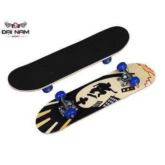 Ván trượt Skateboard mặt nhám cao cấp cỡ nhỏ-DNS01