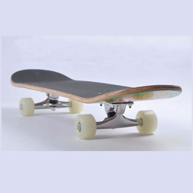 Giá bán Ván trượt thể thao cao cấp Skateboard cỡ lớn bánh cao su đục