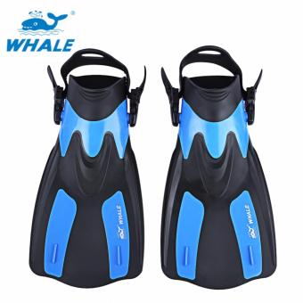 WHALE Snorkeling Diving Swimming Fins Trek for Professional Diver -intl