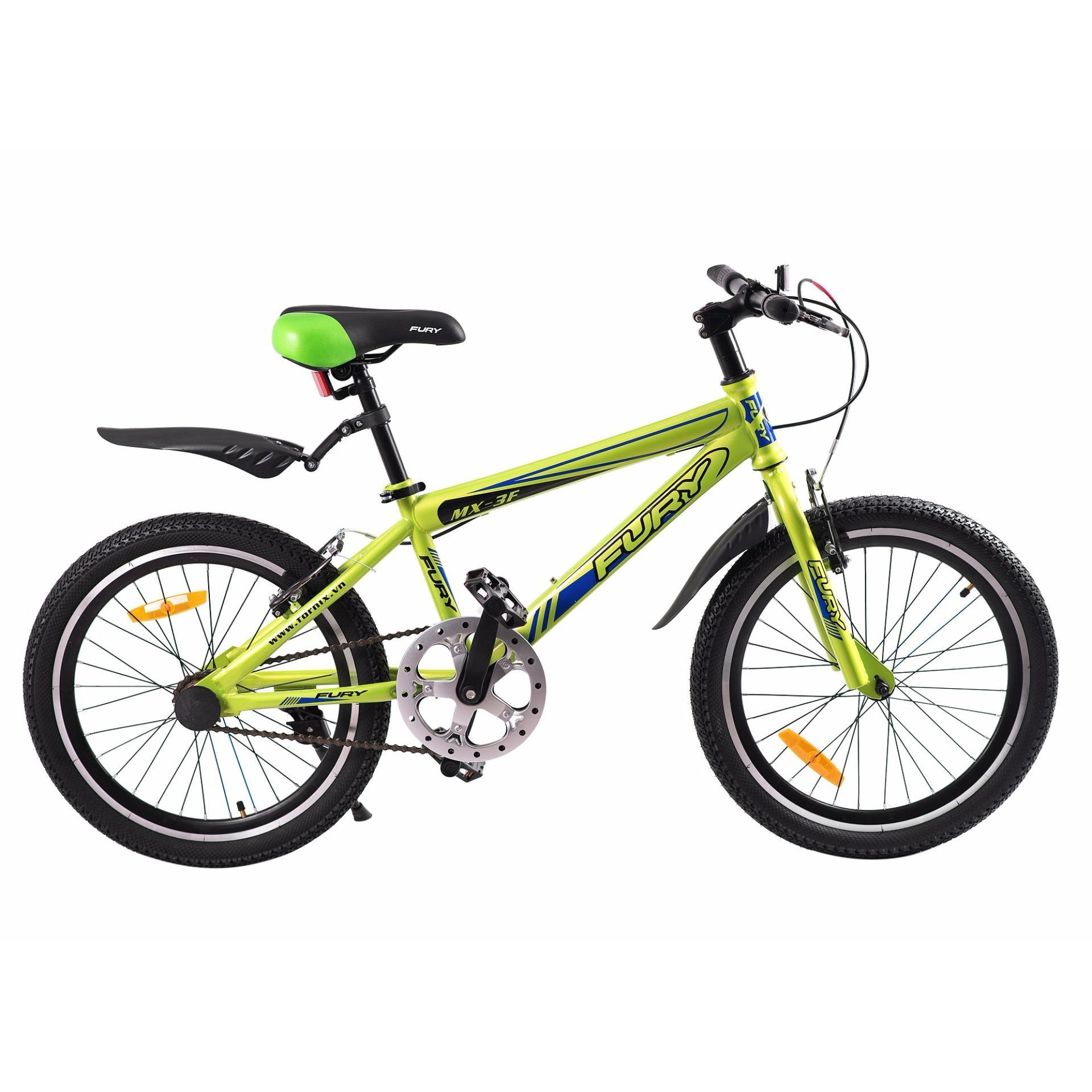 Xe đạp BMX, hiệu FURY, mã MX-3F ( xanh lá xanh )