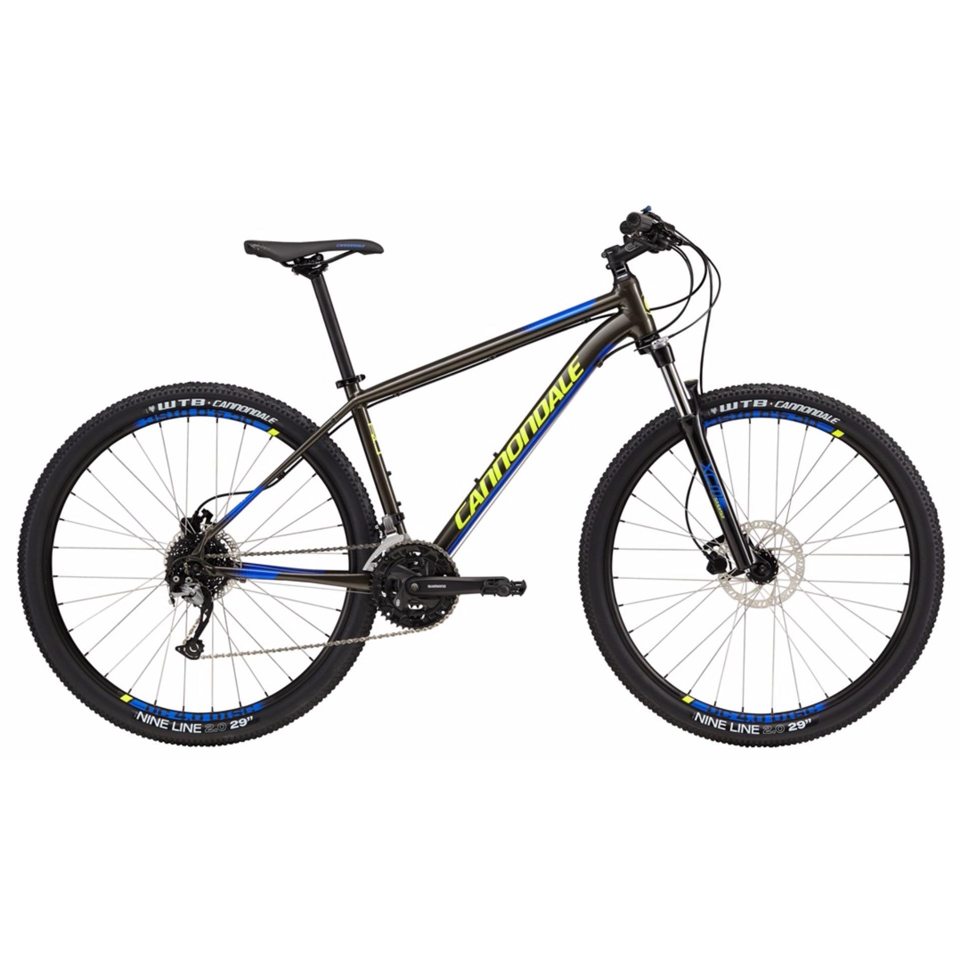 Xe đạp địa hình Cannondale Trail 5 2017 (Xám xanh lá)