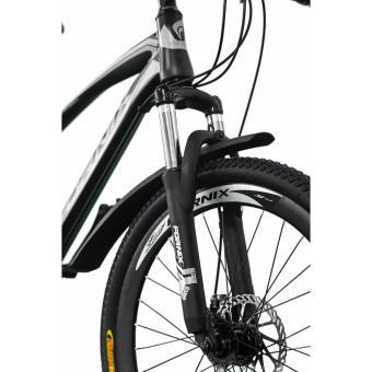 Xe đạp địa hình thể thao Fornix MS50 (xanh lá bạc)
