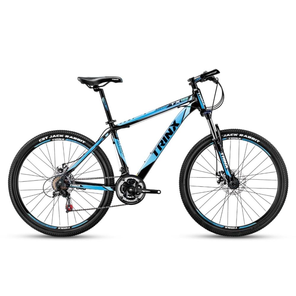 Xe đạp địa hình TrinX TX18 2017 (Đen xanh dương)