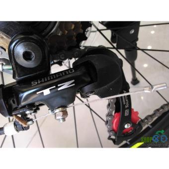 Xe đạp địa hình TrinX TX18 2017 ( Trắng đen xanh dương )