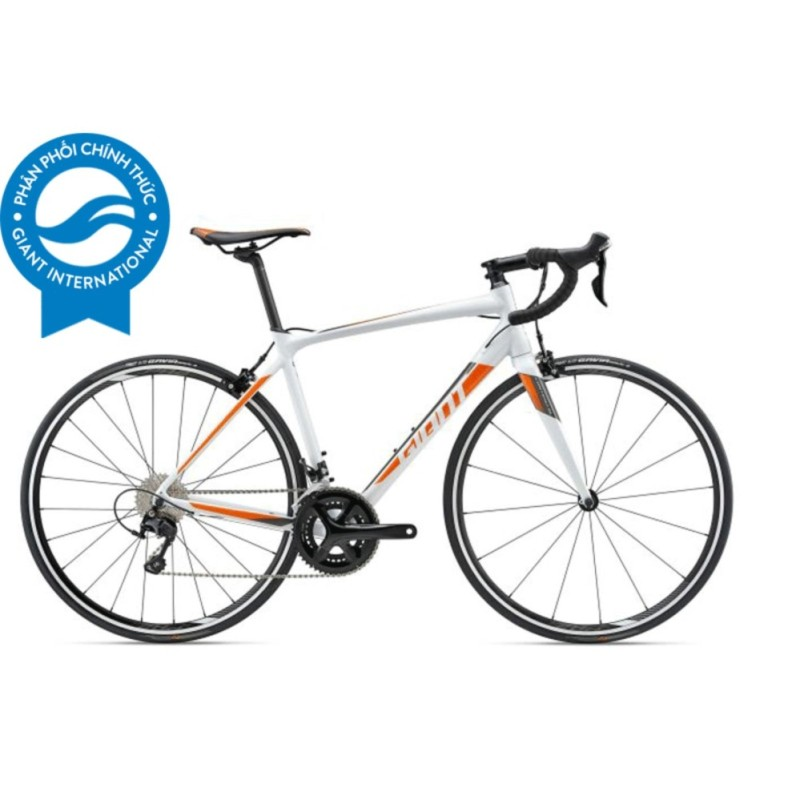 Phân phối Xe đạp đua GIANT Contend SL 1 - Size S (Trắng/Cam/Than chì)