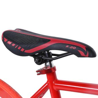 Xe đạp Fixed Gear Single Cổ Chữ A New 2017 (Đỏ)
