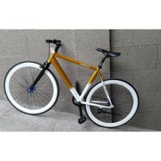 Xe đạp FixedGear FORNIX-BF100 (Đồng trắng)
