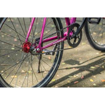 Xe đạp FixedGear, hiệu FURY, mã BF400 ( trắng )