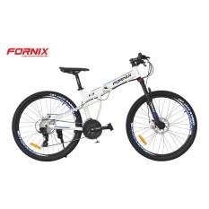 Xe đạp gấp địa hình thể thao Fornix F3 (trắng xanh)