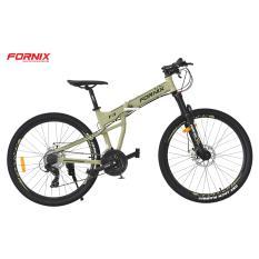 Xe đạp gấp địa hình thể thao Fornix F3 (Xanh lá đen)