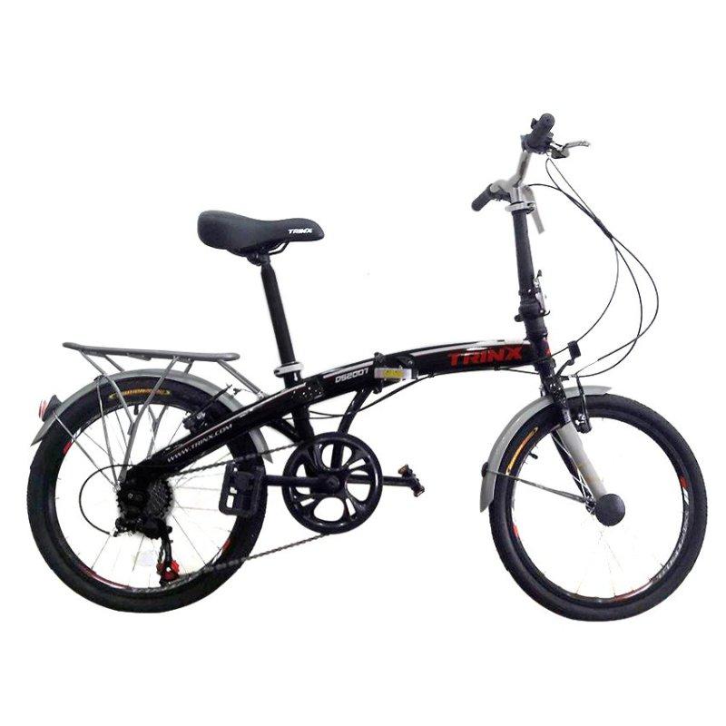 Phân phối Xe đạp gấp TRINX DS2007 (Đen)
