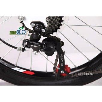 Xe đạp gấp TRINX DS2007 (Đen)