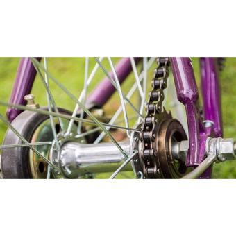 Xe đạp MINI fixedgear BF300 (xanh lá) + tặng balô nhập khẩu