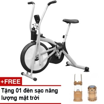 Xe đạp tập thể dục Air Bike + Tặng đèn sạc năng lượng mặt trời