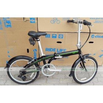 Xe đạp Tern Link B7 20″ (Đen xanh)(Đen)