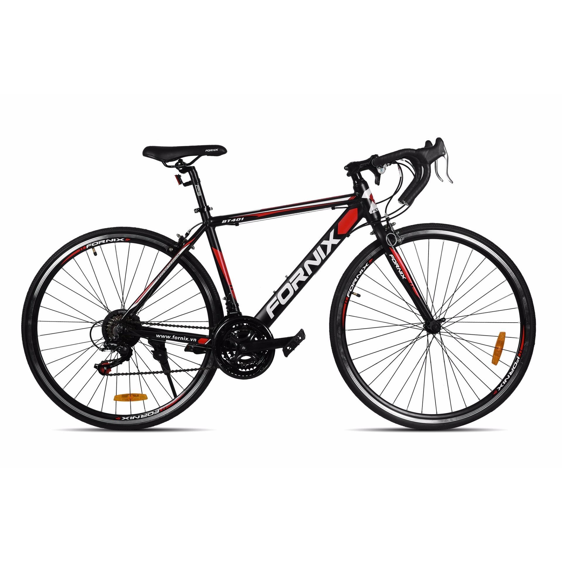 Xe đạp thể thao Fornix - BT401 ( đen đỏ)