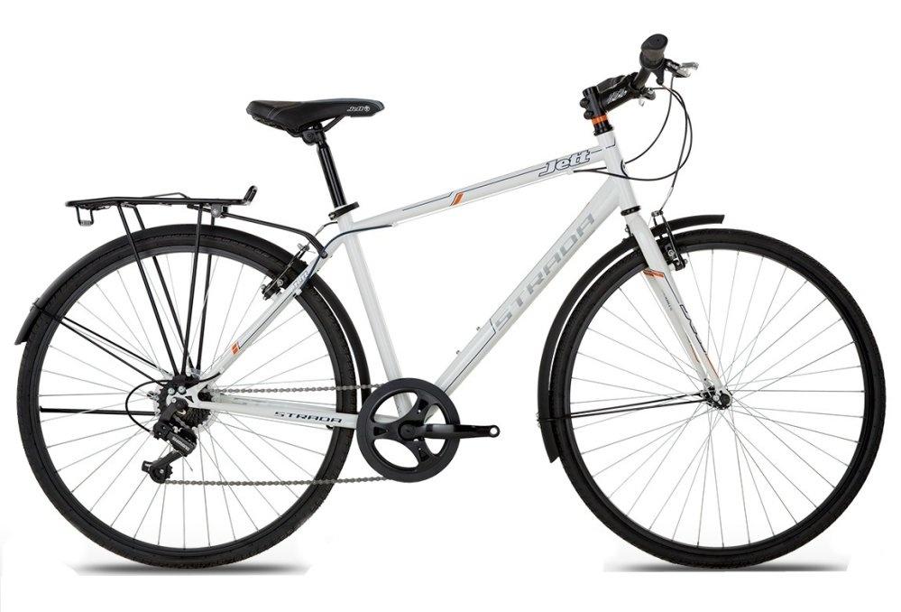 Xe đạp thể thao JETT STRADA WHITE 2015 (Trắng)